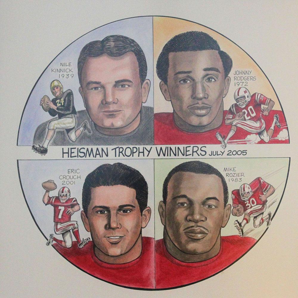 #102 Heisman Trophy Winners