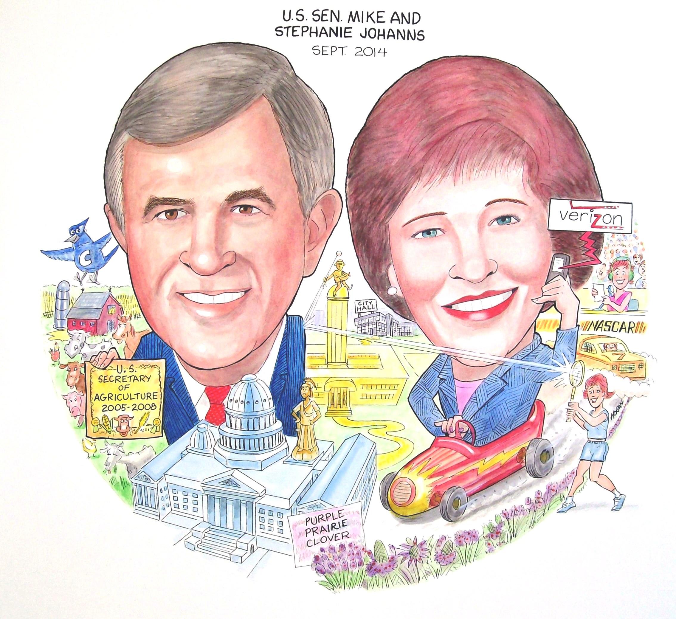 #142 Sen. Mike & Stephanie Johanns