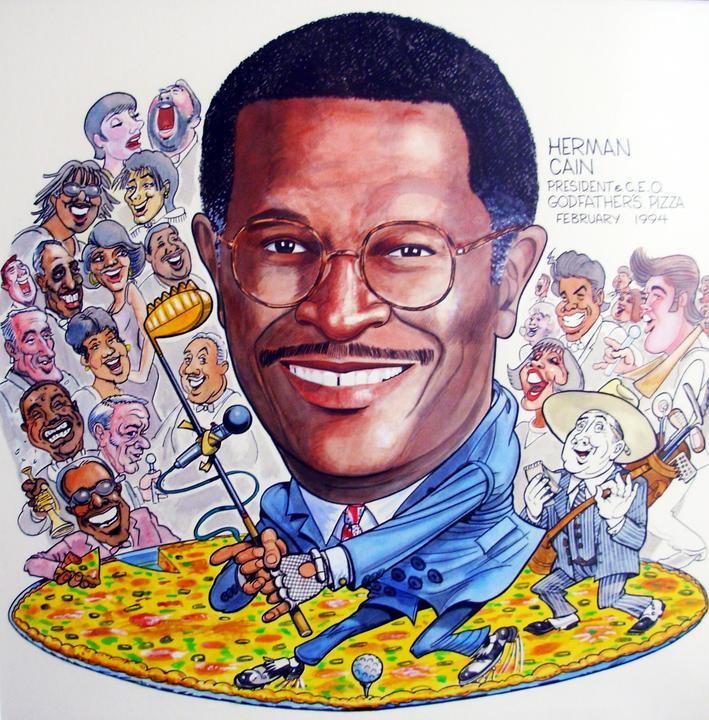 #56 Herman Cain