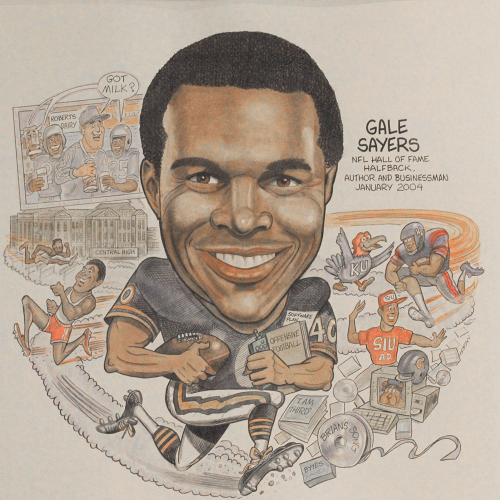 #94 Gale Sayers