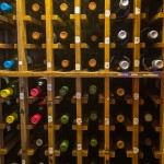 Omaha Press Club Wine Rack