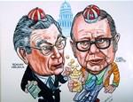 #9 U.S. Senators Roman Hruska and Carl Curtis