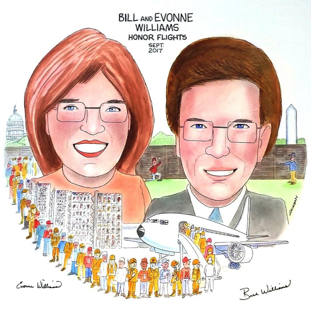 #154 Bill and Evonne Williams
